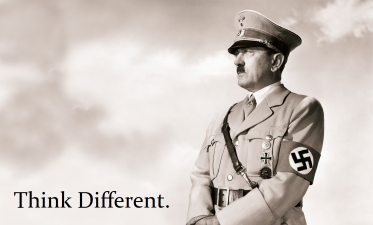 Hitler Think Different