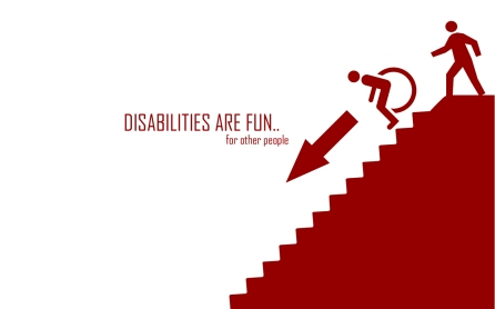 Disabilities are fun