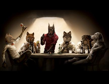 Cani giocatori d'azzardo