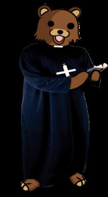 Pedobear vescovo
