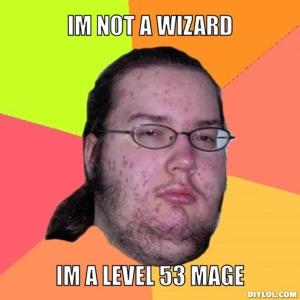 I'm not a wizard