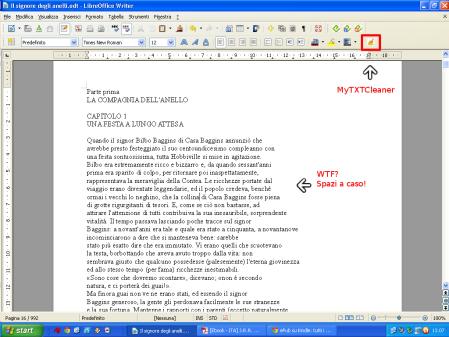 Screenshot MyTXTCleaner