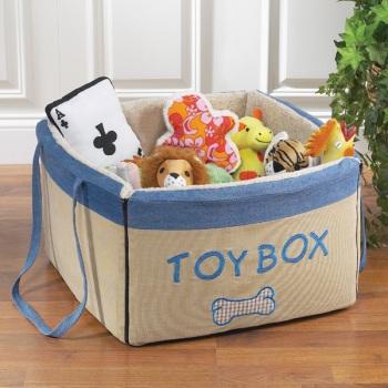 Scatola di giocattoli