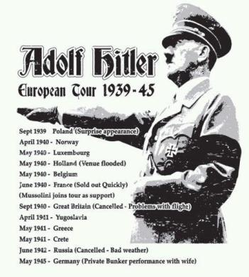 Hitler European Tour