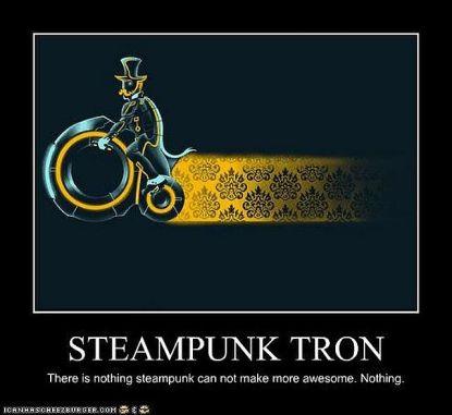 Steampunk Tron