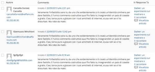 Screenshot troll cestino