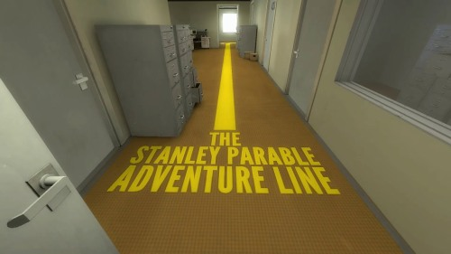 Stanley Parable Adventure Line