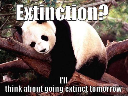 Panda Extinction