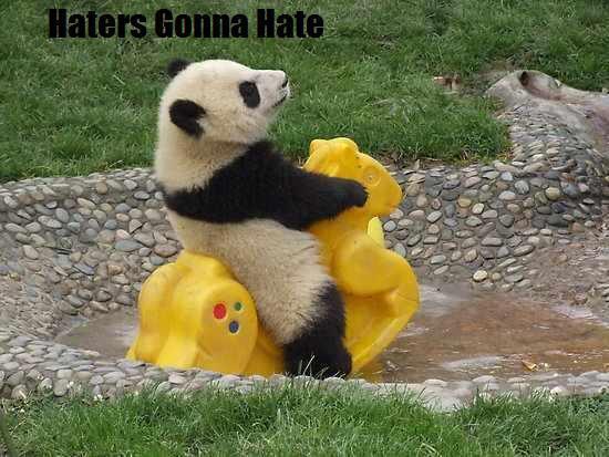 Panda Haters Gonana Hate