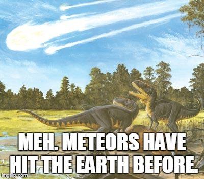Dinosauri che minimizzano