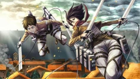 Manovra Tridimensionale Attack on Titan