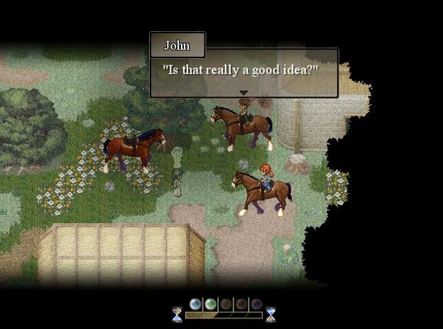 To the Moon Screenshot Horses