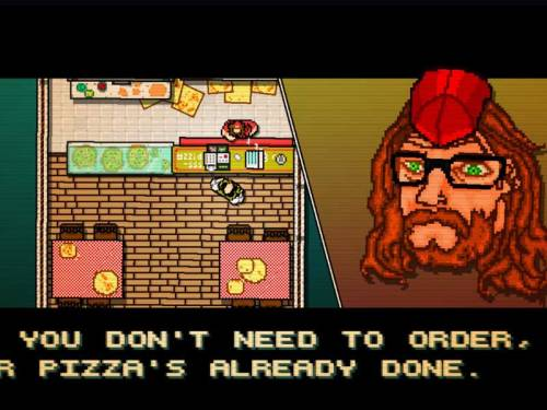 Hotline Miami Screenshot - Beard guy