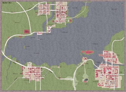 Silent Hill mappa completa
