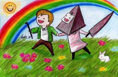 Pyramid Head Happiness