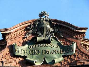 Qui nacque Vittorio Emanuele II