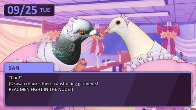 Hatoful Boyfriend - Maid Cafe